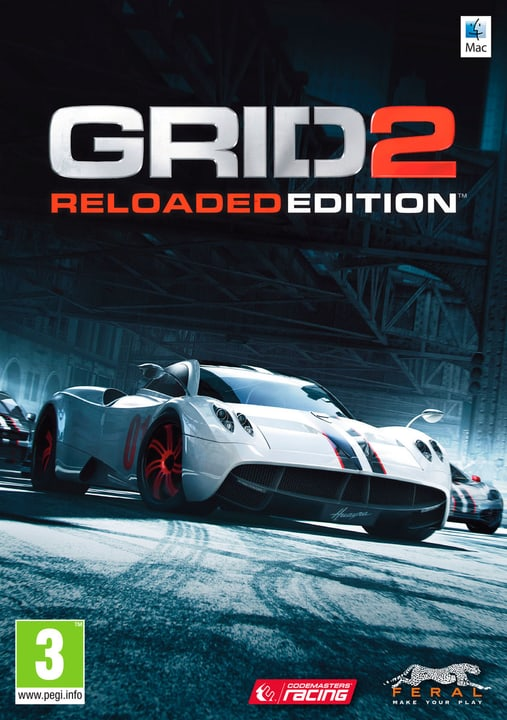 Mac - GRID 2 Reloaded Edition Download (ESD) 785300134097 Photo no. 1