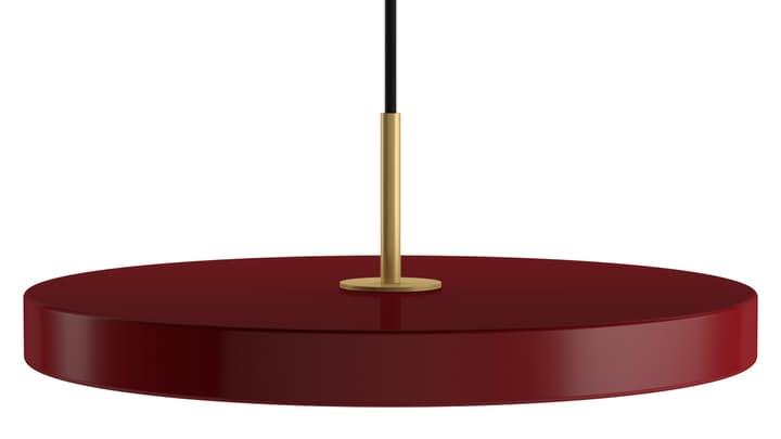 ASTERIA Sospensione 380101600000 Dimensioni L: 43.0 cm x P: 43.0 cm x A: 14.3 cm Colore Rosso N. figura 1