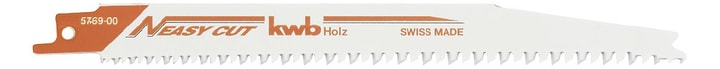 EASY CUT HCS-Säbelsägeblätter 205 mm 2 Stk. kwb 610510800000 Bild Nr. 1