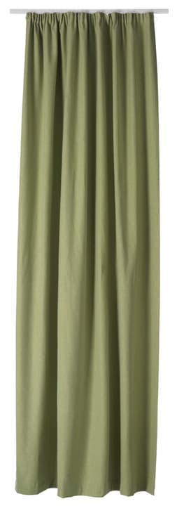 PIETRO Rideau prêt à poser nuit 430266821860 Couleur Vert Dimensions L: 145.0 cm x H: 270.0 cm Photo no. 1