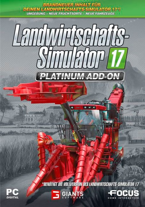 PC - Landwirtschafts-Simulator 17 - Platinum D Physique (Box) 785300130452 Photo no. 1