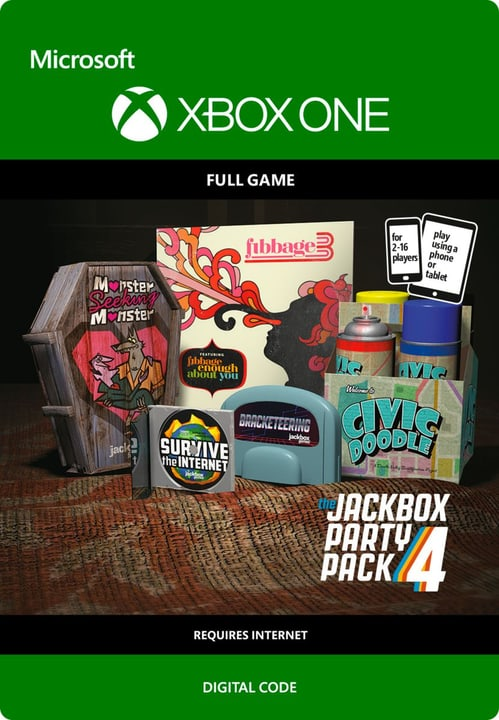 Xbox One - The Jackbox Party Pack 4 Digital (ESD) 785300136409 Bild Nr. 1