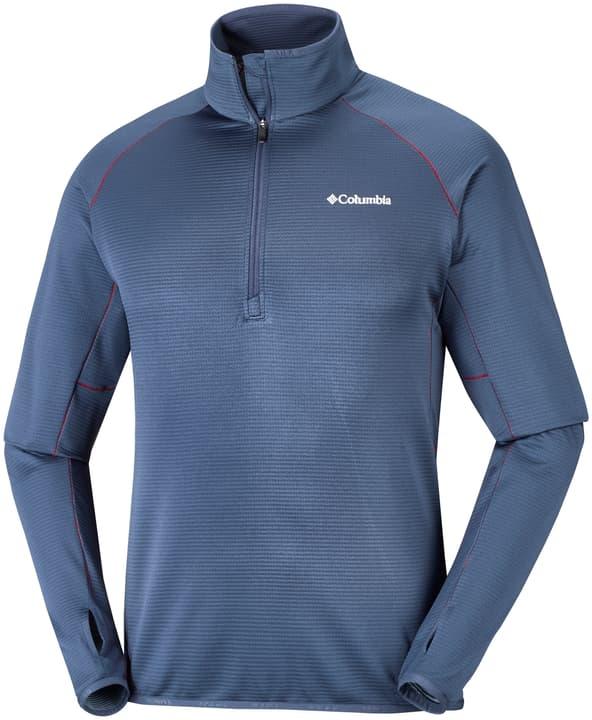 Mount Powder Half Zip Fleece Herren-Fleecepullover Columbia 460353300440 Farbe blau Grösse M Bild-Nr. 1