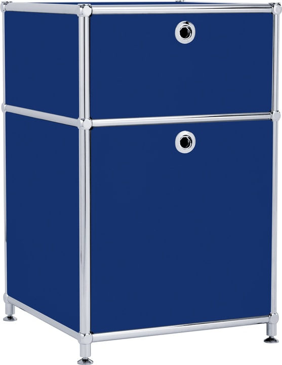 FLEXCUBE Caisson 401808400040 Dimensions L: 40.0 cm x P: 40.0 cm x H: 62.5 cm Couleur Bleu Photo no. 1