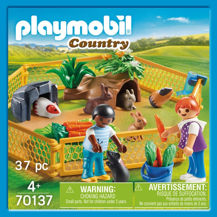 PLAYMOBIL 70137 Enfants avec animaux 748013300000 Photo no. 1