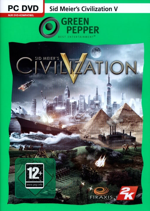 PC - Green Pepper: Sid Meier's CivilizatV 785300121608 Photo no. 1