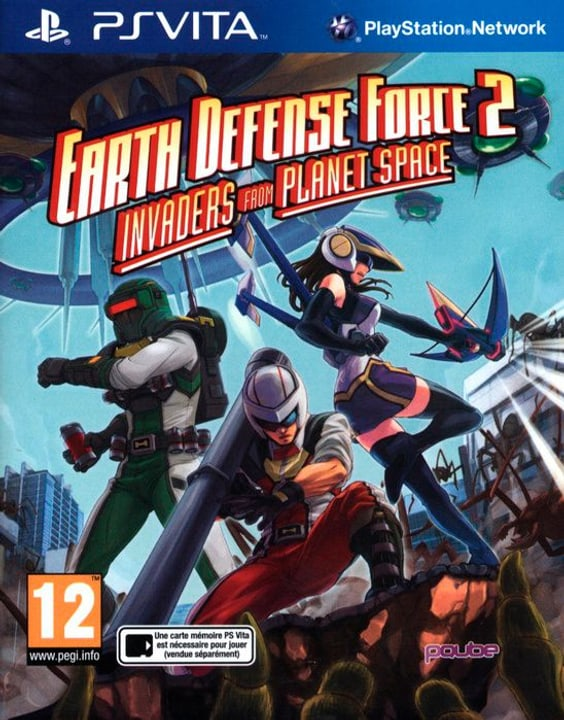 PS Vita - Earth Defense Force 2 : Invaders from Planet Space 785300122502 N. figura 1