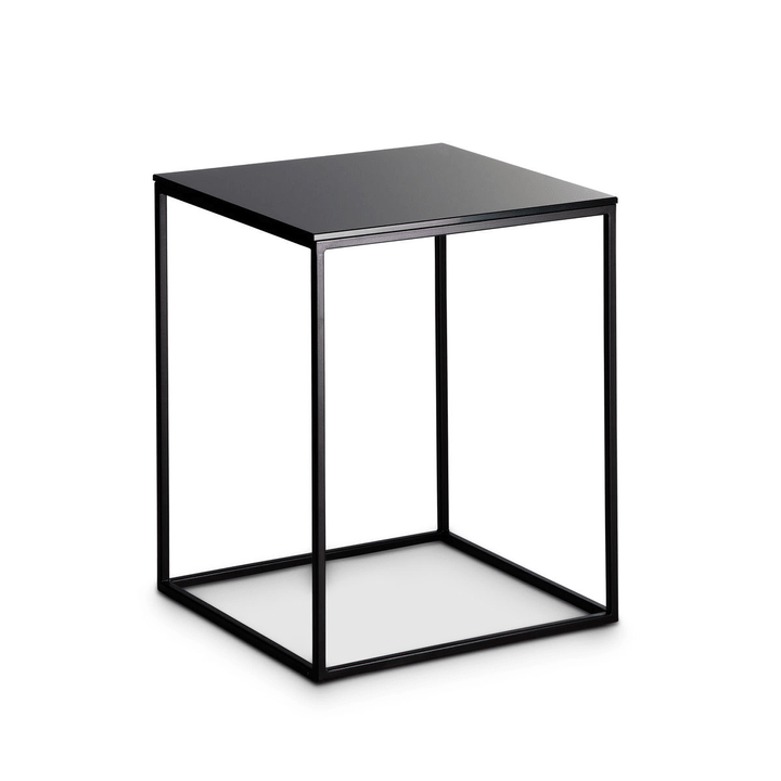 COFFEE table d'appoint 360970100000 Dimensions L: 40.0 cm x P: 40.0 cm x H: 51.0 cm Couleur Noir Photo no. 1