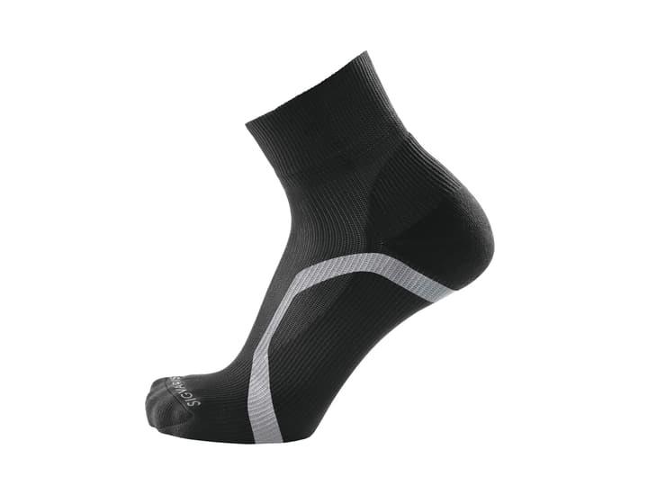 ANKLE SOCKS Chaussettes de course compression Sigvaris 497144635220 Couleur noir Taille 35-38.5 Photo no. 1