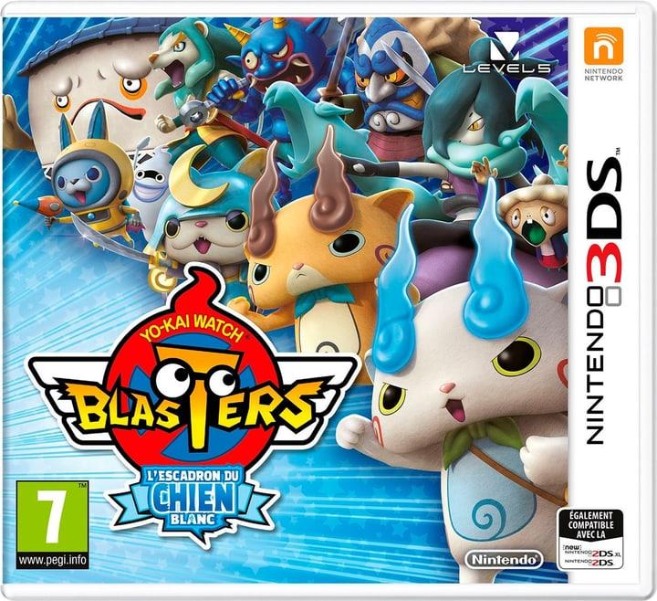 3DS - Yo-Kai Watch Blasters - L'Escadron du Chien Blanc (F) Box 785300137868 Photo no. 1