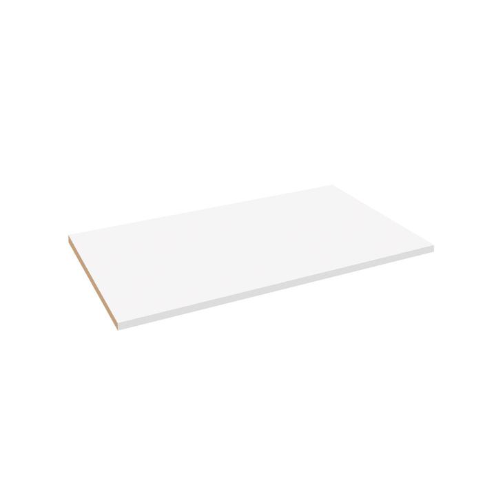 MILO Ripiano 364051508307 Dimensioni L: 98.7 cm x P: 53.0 cm x A: 2.2 cm Colore Bianco N. figura 1