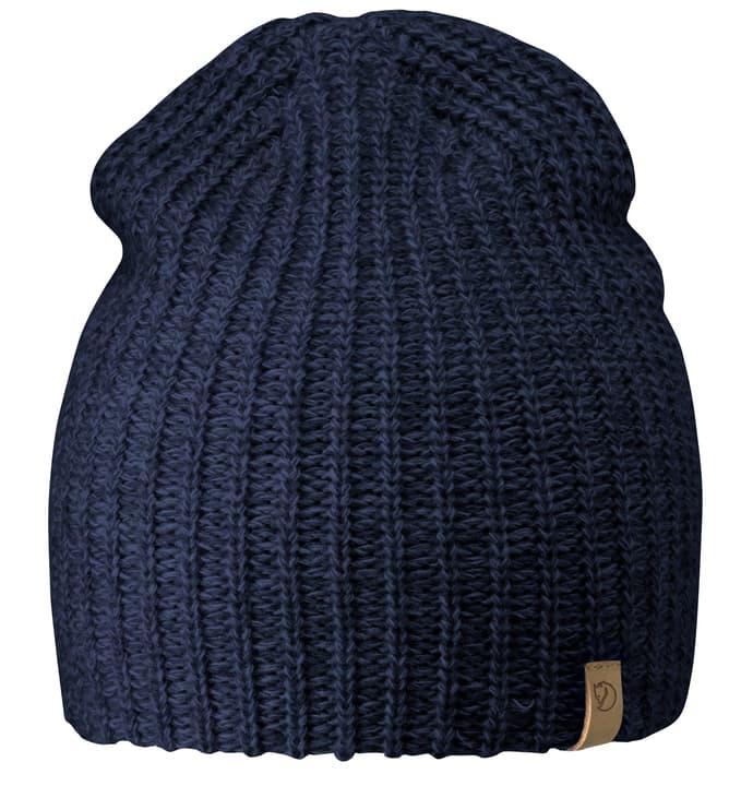 Övik Melange Unisex-Beanie Fjällräven 462762899922 Farbe dunkelblau Grösse one size Bild-Nr. 1