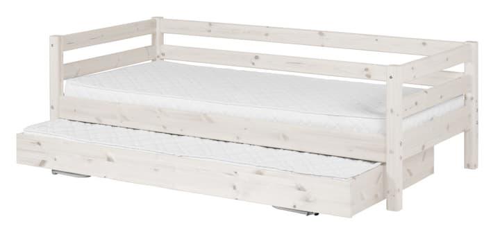 CLASSIC Kombibett Flexa 404960500000 Grösse B: 100.0 cm x T: 210.0 cm x H: 67.0 cm Farbe White Wash Bild Nr. 1