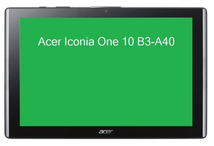 Iconia One 10 B3-A40-K80C Tablet Acer 79840990000017 Bild Nr. 1