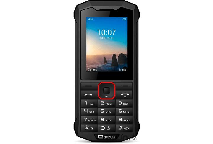 Spider-X4 64GB Dual-SIM nero CROSSCALL 785300125337 N. figura 1