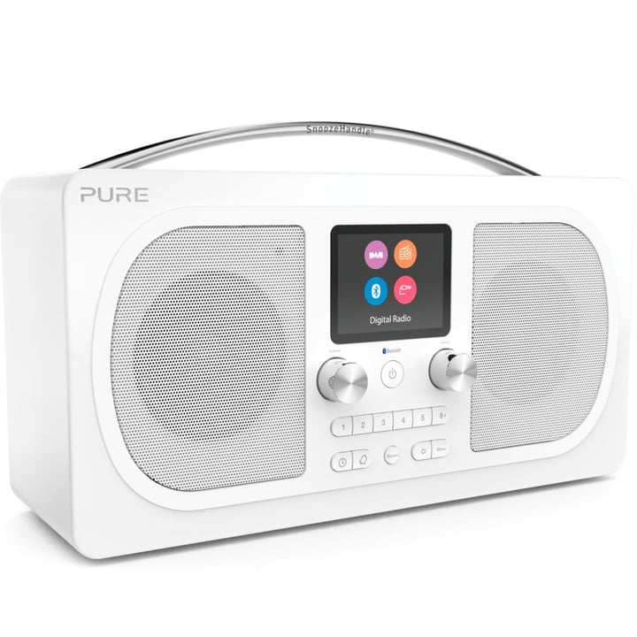 Evoke H6 - Blanc Radio DAB+ Pure 785300134291 Photo no. 1