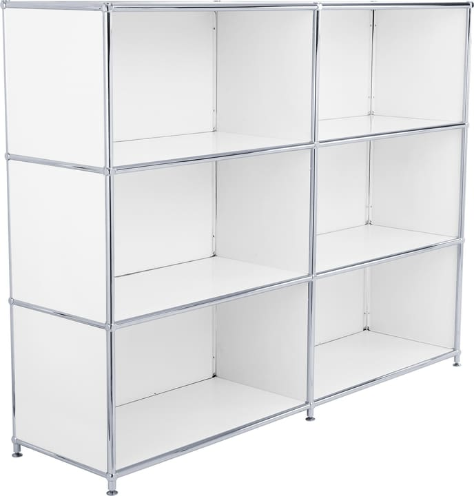 FLEXCUBE Buffet haut 401809200010 Dimensions L: 152.0 cm x P: 40.0 cm x H: 118.0 cm Couleur Blanc Photo no. 1