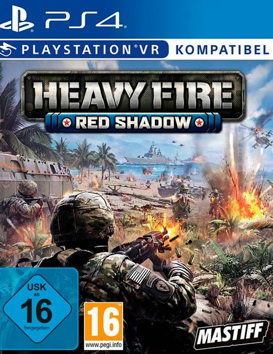 PS4 - Heavy Fire Red Shadow VR D Box 785300144104 N. figura 1