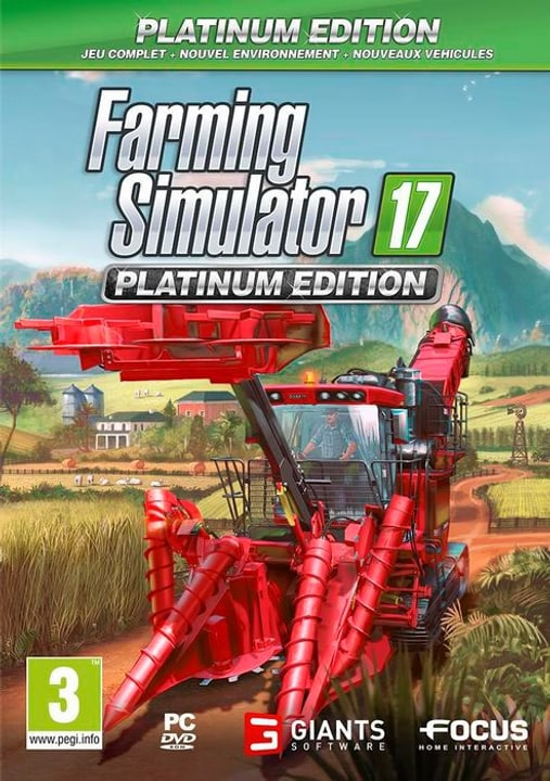 PC - Farming Simulator 2017 - Platinum Edition F Physique (Box) 785300130448 Photo no. 1