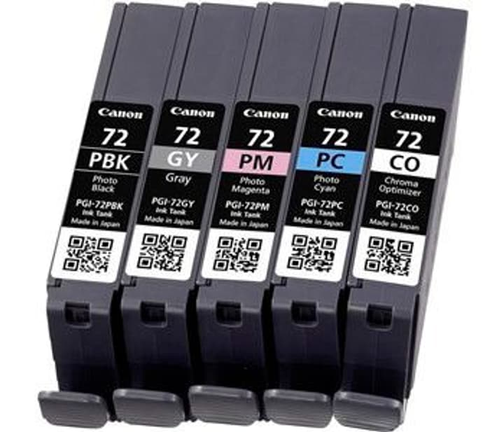 PGI-72 Multipack  PBK / GY/ PM / PC / CO Cartuccia d'inchiostro Canon 795851000000 N. figura 1