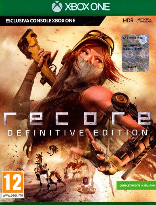 Xbox One - ReCore Definitive Edition 785300129685 N. figura 1