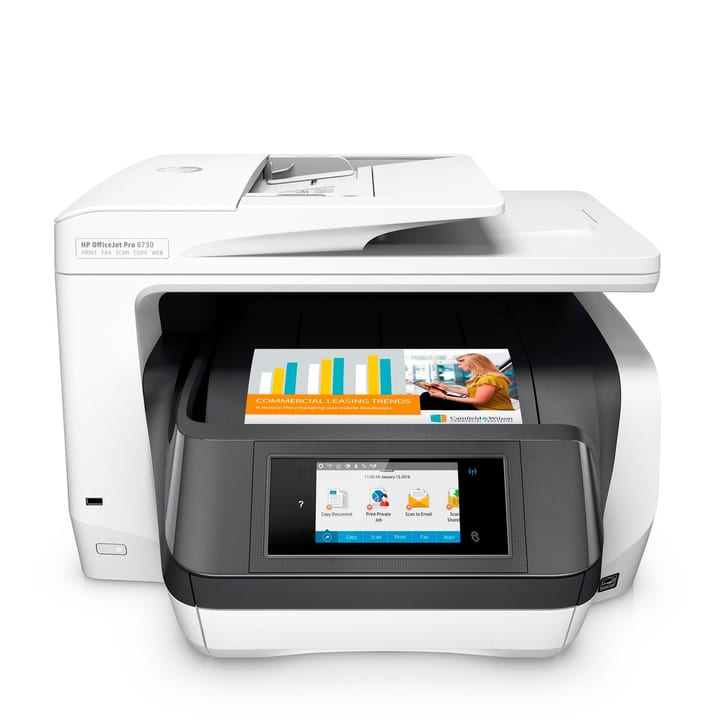 OfficeJet Pro 8730 AiO Imprimante multifonction HP 785300125272 Photo no. 1