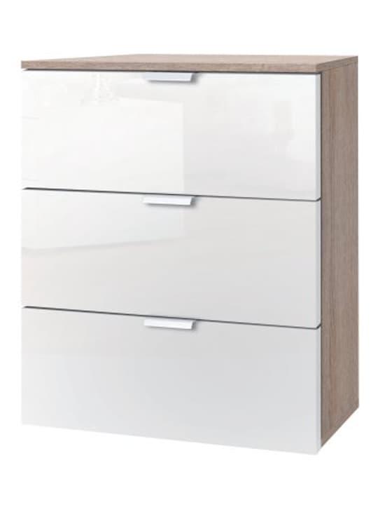 ORSON Commode 404480500000 Couleur Blanc brillant Dimensions L: 50.0 cm x P: 42.0 cm x H: 61.0 cm Photo no. 1