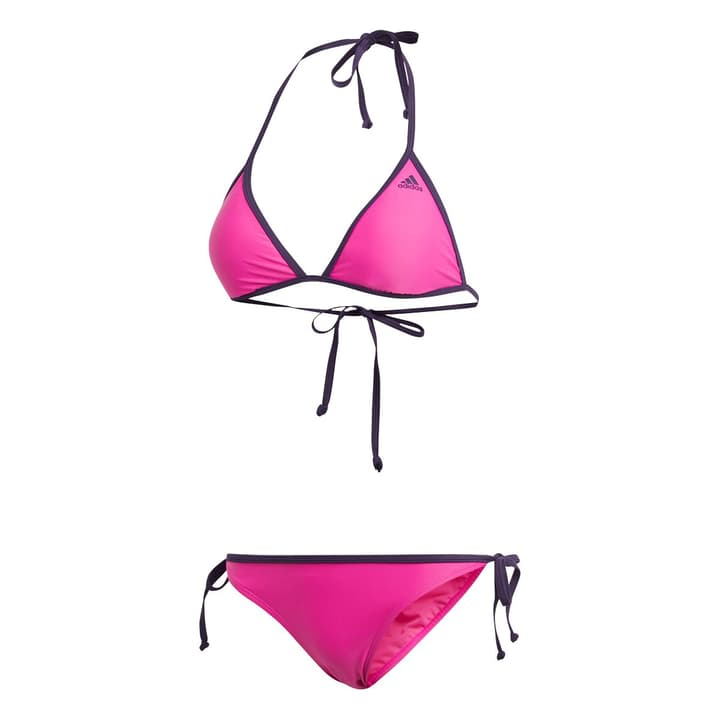 Beach women bikini solid 2 Damen Bikini Adidas 463100703617 Farbe himbeer Grösse 36 Bild-Nr. 1