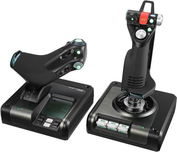 G Saitek Pro Flight X52 Control System Logitech 785300136881 Photo no. 1