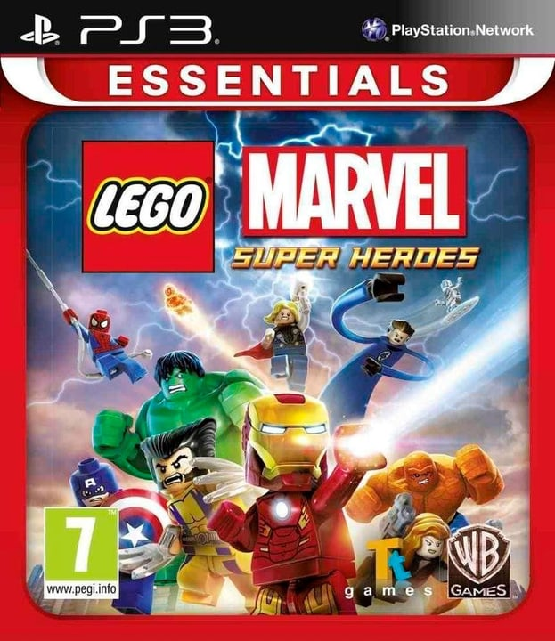 PS3 - Lego Marvel Super Heroes Essentials Box 785300121710 Photo no. 1