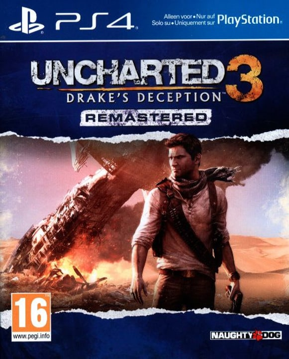 PS4 - Uncharted 3 Physique (Box) 785300121844 Photo no. 1