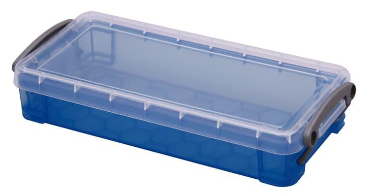 Ordnungsbox 0.55L Really Useful Box 603730700000 Grösse L: 22.0 cm x B: 10.0 cm x H: 4.0 cm Farbe Blau Bild Nr. 1