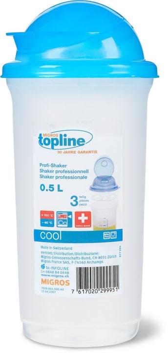 COOL Shaker Professionale 0.5L M-Topline 702906400040 Colore Blu Dimensioni L: 9.5 cm x A: 20.0 cm N. figura 1