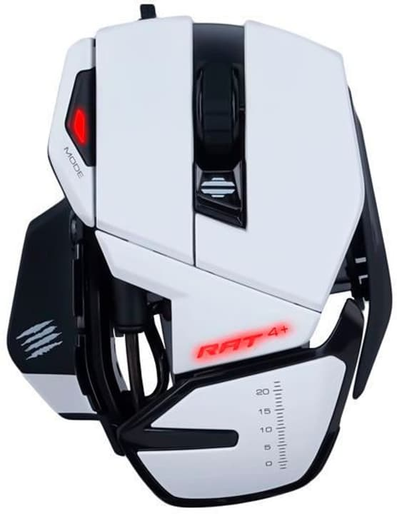 R.A.T. 4+ Optical Gaming Mouse Mouse Mad Catz 785300146608 N. figura 1