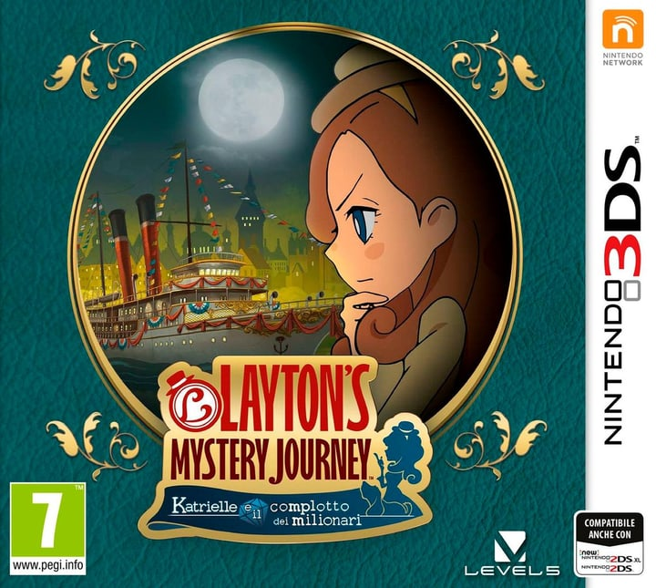 3DS - Layton's Mystery Journey: Katrielle e il complotto dei milionari Box 785300129652 Photo no. 1