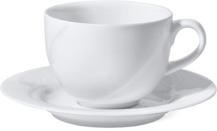 NIKITA Tazza da caffè con piattino Cucina & Tavola 700158800005 Colore Bianco Dimensioni A: 6.5 cm N. figura 1