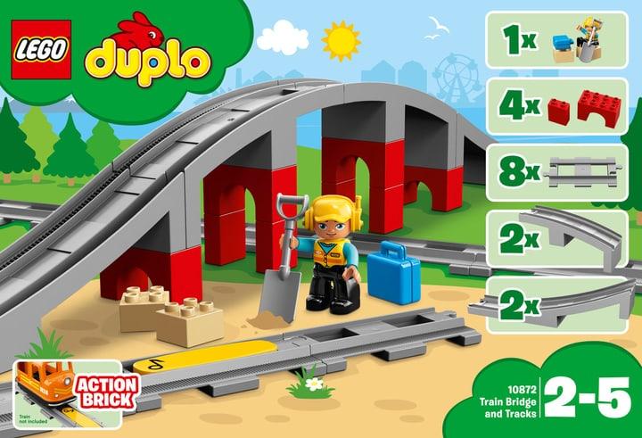 Lego Duplo Les rails et le pont du train 10872 748884900000 Photo no. 1