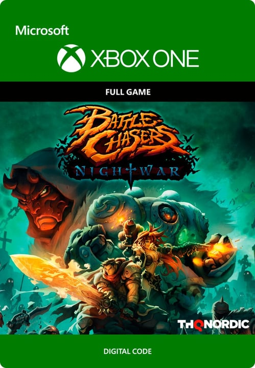 Xbox One - Battle Chasers: Nightwar Download (ESD) 785300135643 N. figura 1