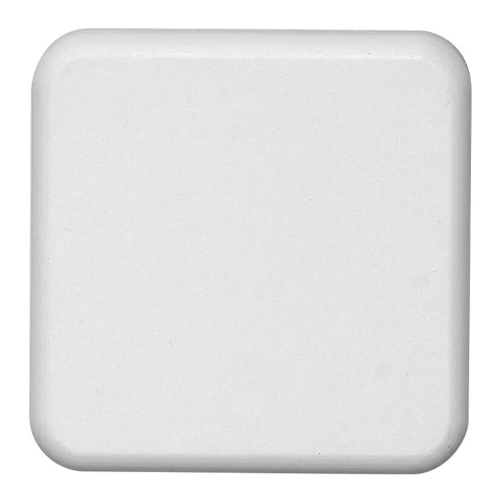 Frontplatte Schalterloch quadratisch Calotta d'interruttore quadratico semplice Mica for you 612243300000 Bild Nr. 1