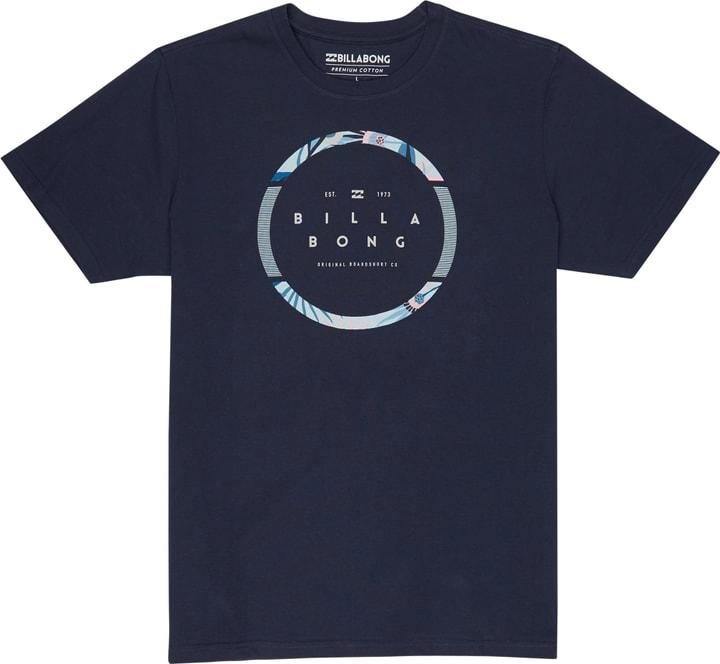 SPINNING TEE SS Herren-T-Shirt Billabong 463124600343 Farbe marine Grösse S Bild-Nr. 1