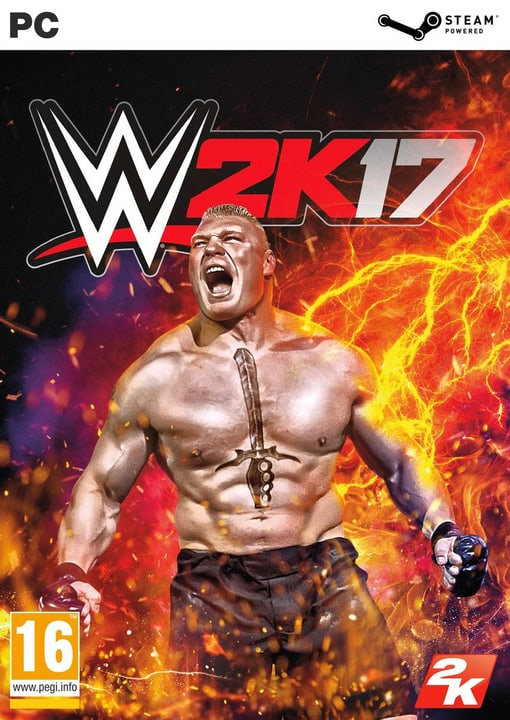 PC - WWE 2K17 Box 785300121857 N. figura 1