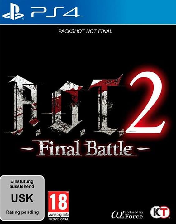 PS4 - A.O.T. 2: Final Battle F Box 785300145012 Photo no. 1