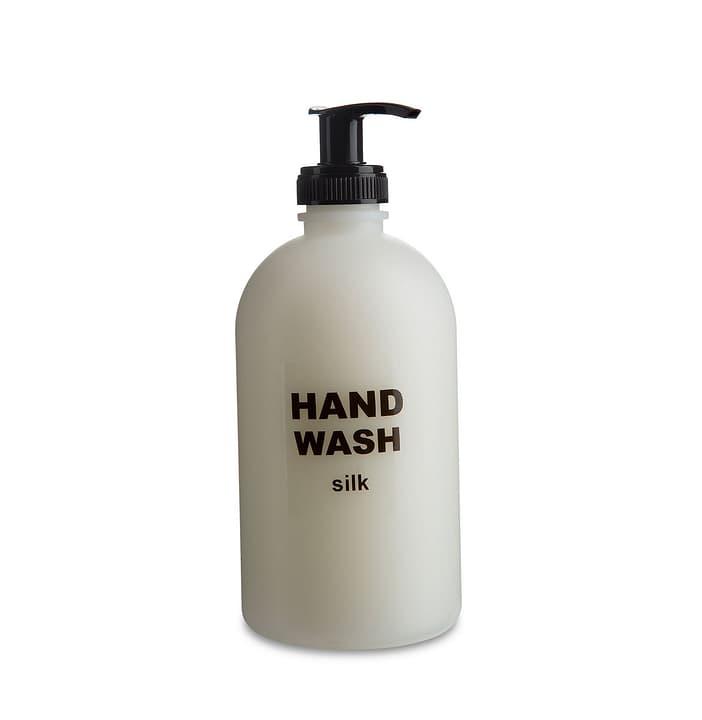 HAND WASH Savon liquide soie 374034300000 Dimensions L: 6.5 cm x P: 6.5 cm x H: 18.0 cm Couleur Blanc Photo no. 1