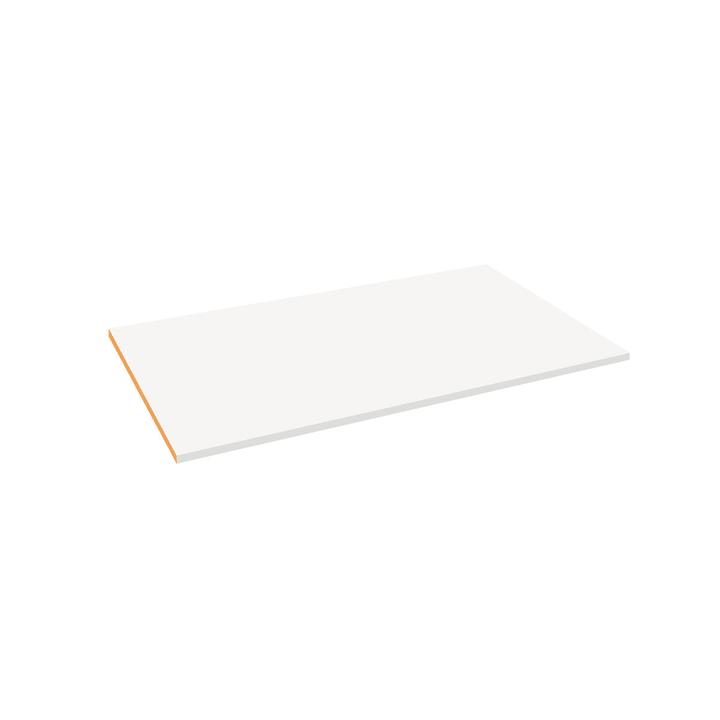 MILO Rayon 364051305105 Dimensions L: 98.7 cm x P: 53.0 cm x H: 1.6 cm Couleur Blanc Photo no. 1