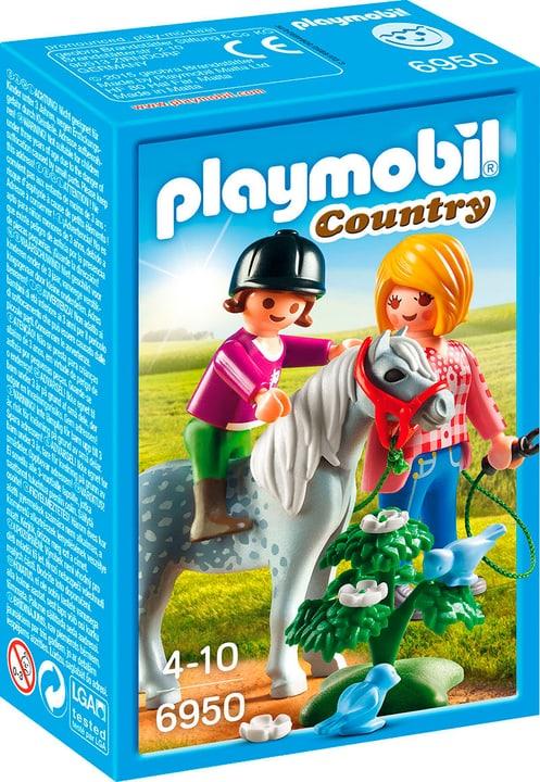 PLAYMOBIL Country Cavalière avec soigneur et poney 6950 746061000000 Photo no. 1
