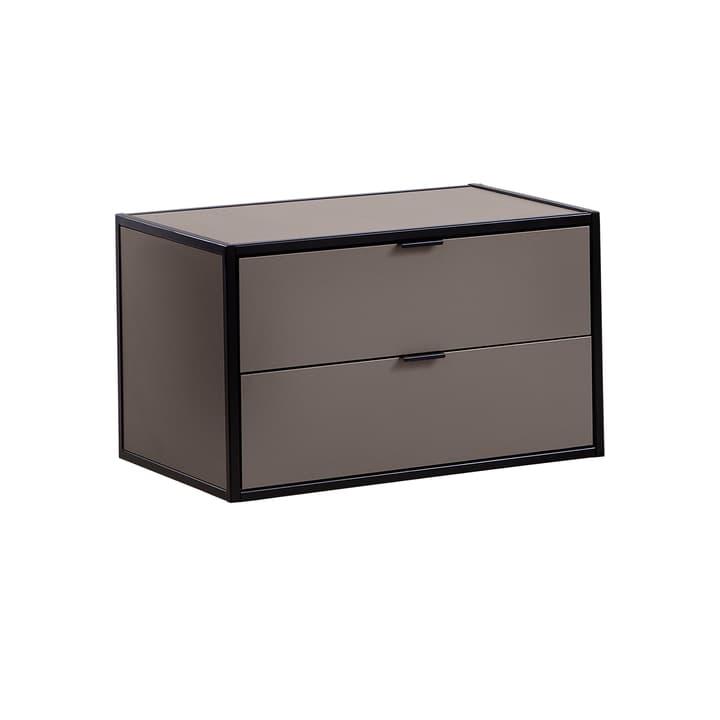 SEVEN Schublade mit Abdeckung Edition Interio 360984800000 Grösse B: 60.0 cm x T: 38.0 cm x H: 35.0 cm Farbe Grau Bild Nr. 1