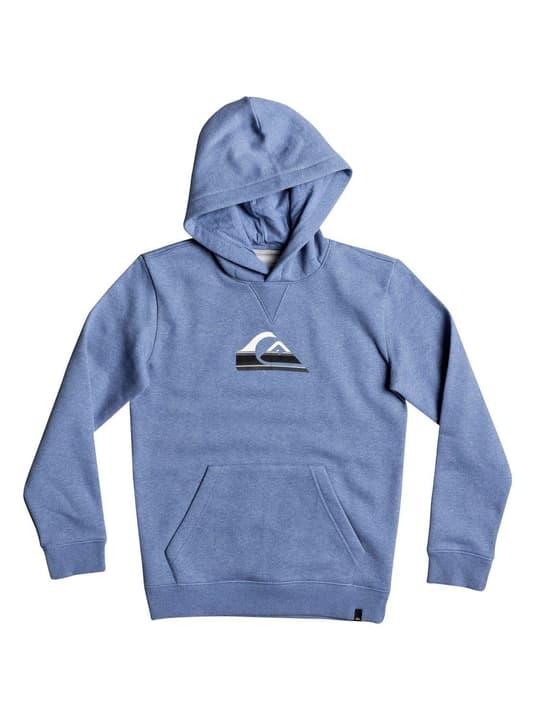 Sweat-shirt à capuche pour garçon Quiksilver 464552814041 Couleur bleu claire Taille 140 Photo no. 1