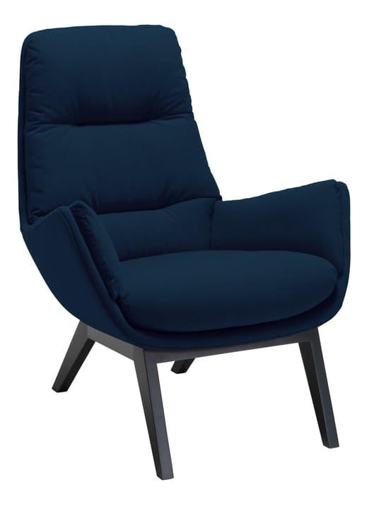 ANDRES Poltrona 402441207043 Dimensioni L: 83.0 cm x P: 87.0 cm x A: 96.0 cm Colore Blu marine N. figura 1