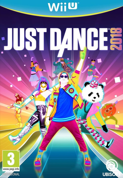 Wii U - Just Dance 2018 Box 785300128777 N. figura 1