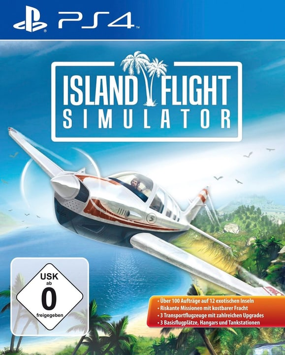 PS4 - Island Flight Simulator (D) Physique (Box) 785300133166 Photo no. 1